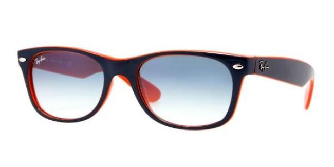 ray ban sonnenbrille new wayfarer rb 2132 789 3f gr 52 top. Black Bedroom Furniture Sets. Home Design Ideas