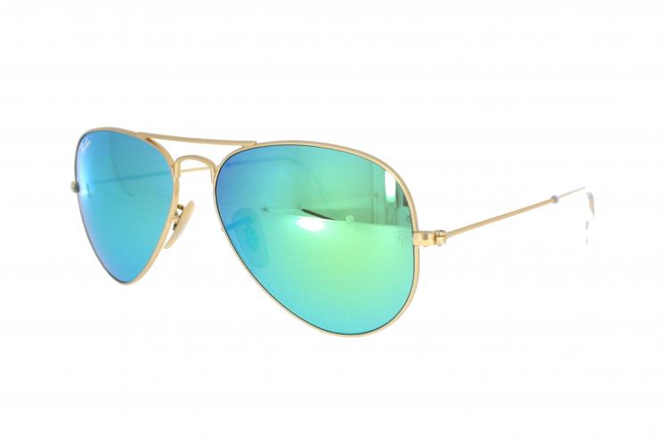 ray ban sonnenbrille rb 3025 112 19 gr 55 in gold matt. Black Bedroom Furniture Sets. Home Design Ideas