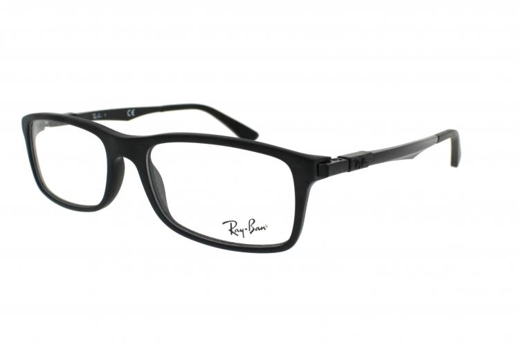 e4b765c947 Ray-Ban Brille RX 7017 Gr 54 17 in matt schwarz