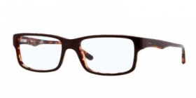 Brillenbild Ray-Ban Brille RX 5245 5220 Gr��e 54/17 Farbe top brown on havana / braun, havana hinterlegt