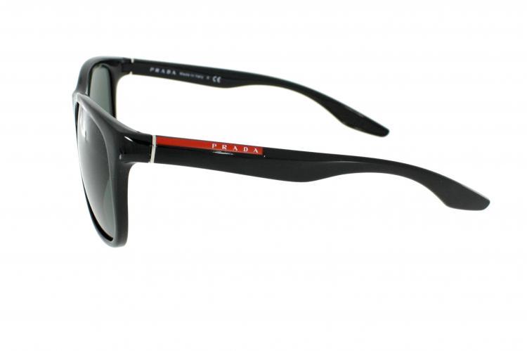 prada sport sonnenbrille ps 03os 1ab3o1 in schwarz. Black Bedroom Furniture Sets. Home Design Ideas