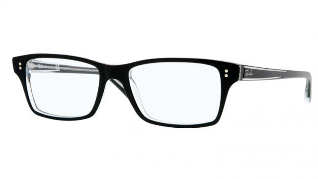 ray ban brillengestell schwarz