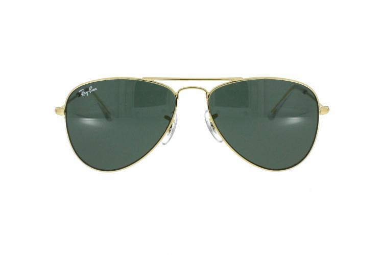 ray ban sonnenbrille aviator junior jr 9506s in gold. Black Bedroom Furniture Sets. Home Design Ideas