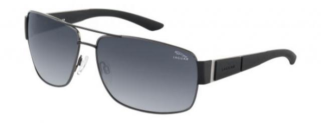 jaguar sonnenbrille 37542 420 in der farbe schwarz