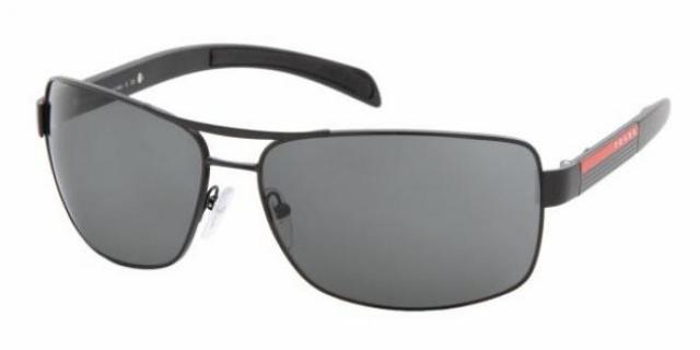 prada sport designer herren sonnenbrille ps 54is 1bo1a1 in der farbe matte black schwarz matt. Black Bedroom Furniture Sets. Home Design Ideas