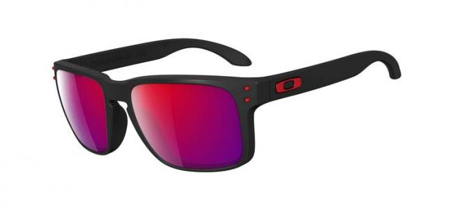 oakley verspiegelt sonnenbrille