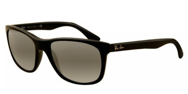 Ray-Ban Sonnenbrille RB 4181 601/71 in der Farbe schwarz/ black Gläser: gray gradient/ grau K8Cygs6nlT