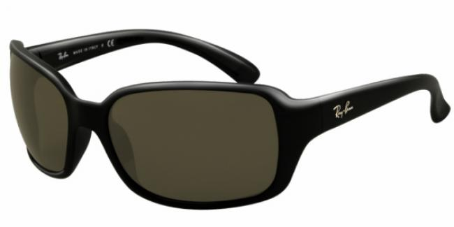 Ray Ban Ray-Ban Sonnenbrille RB 4068 601 in der Farbe glossy black - schwarz