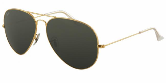 Ray-Ban Sonnenbrille Aviator Large Metal RB 3025 001/58 Gr.55 in der Farbe arista / gold Pol. gpLqNU9yCb