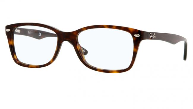 ray ban braun transparent