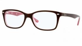 braune ray ban brillen