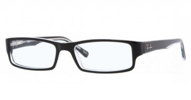 ray ban brille schwarz rot