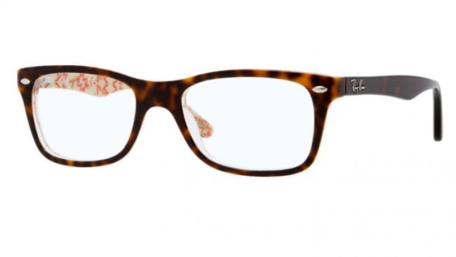 ray ban brille grau braun