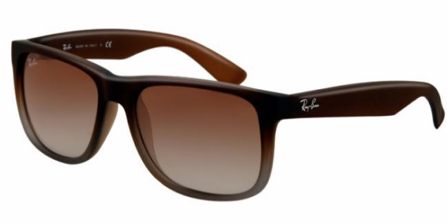 ray ban sonnenbrille justin aus kunststoff rb 4165 854 7z gr 54. Black Bedroom Furniture Sets. Home Design Ideas