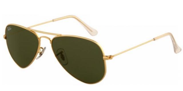 ray ban sonnenbrille aviator small metal rb 3044 l0207 gr. Black Bedroom Furniture Sets. Home Design Ideas