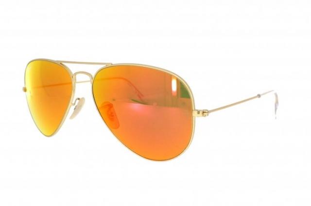 ray ban sonnenbrille rb 3025 112 69 gr 55 in gold matt. Black Bedroom Furniture Sets. Home Design Ideas