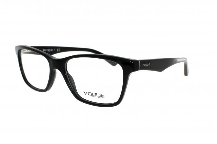18343909972 Vogue Brille VO 2787 W44 Gr.51 in der Farbe black / schwarz ...