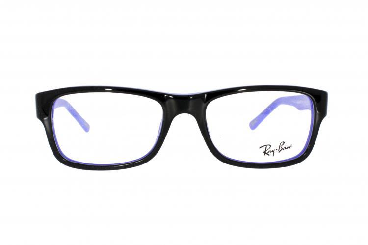 brille ray ban braun blau