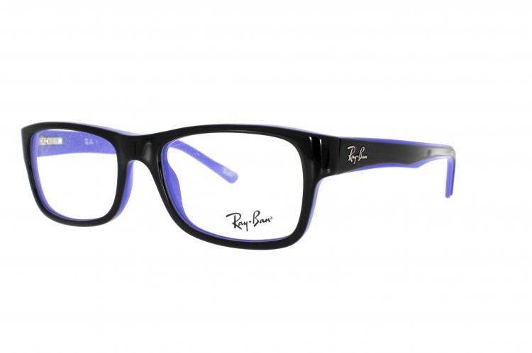 ray ban sonnenbrille blau matt