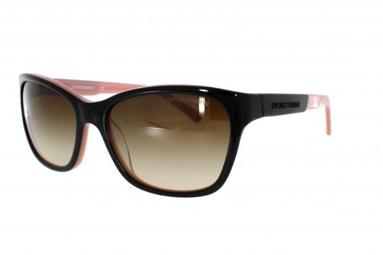 Emporio Armani Sonnenbrille EA 4004 504613 Gr. 56 in der Farbe Black on Rosa / Brown Gradient mOInudNby
