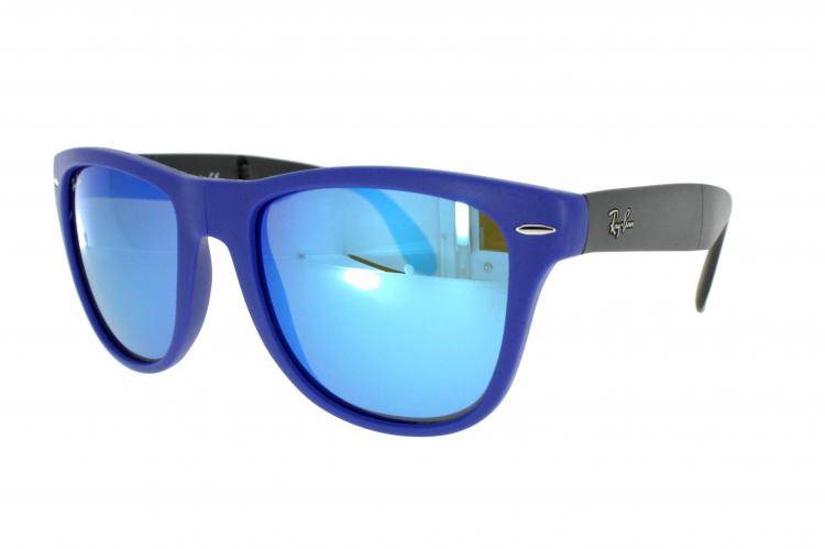 ray ban brille blau beige
