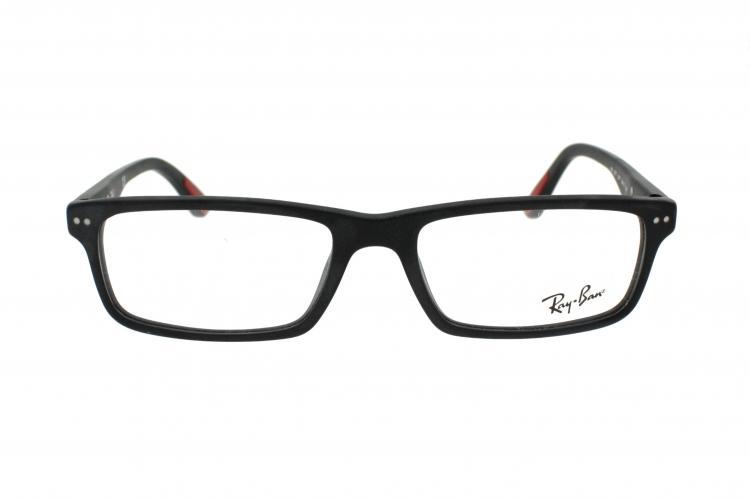 ray ban sehbrille schwarz matt