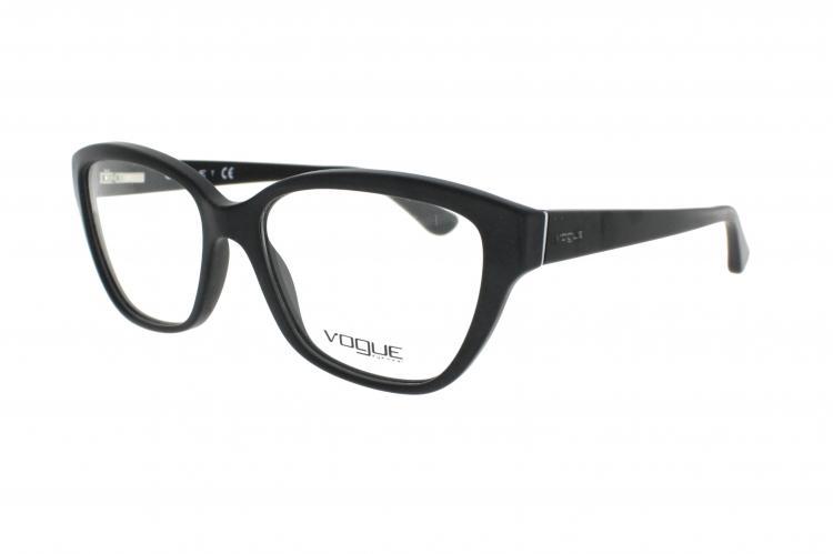 286528d6753 Vogue Damenbrille VO 2835 W44S Gr 53 in schwarz