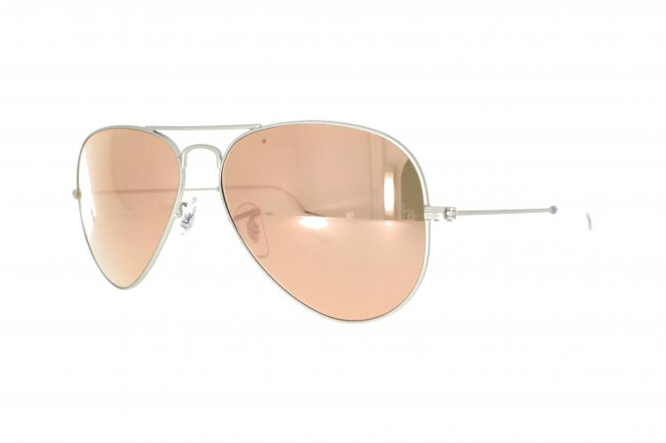 ray ban sonnenbrille silber