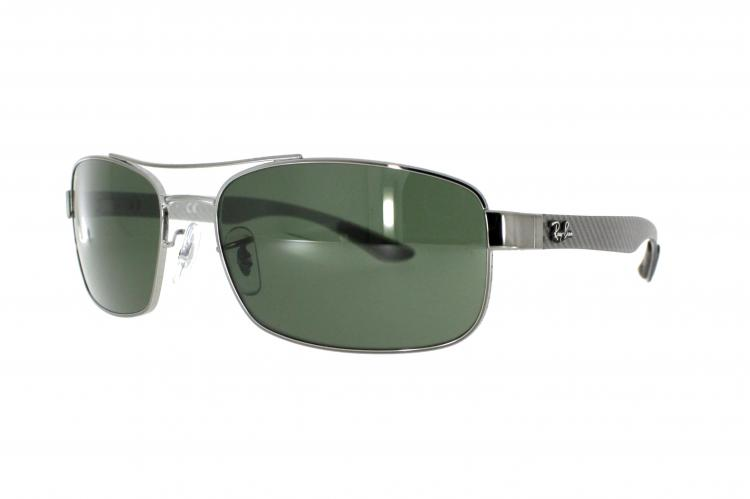 a6100c4a32cb7f Ray-Ban Sonnenbrille RB Carbon Lite RB 5316 004 Gr 62 in silber