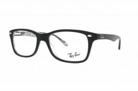 brille ray ban schwarz blau