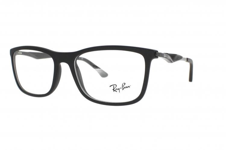 ray ban wayfarer braun brille