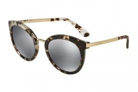 DOLCE & GABBANA Dolce & Gabbana Damen Sonnenbrille » DG2179«, schwarz, 13128G - schwarz/grau