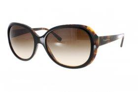 Giorgio Armani Damen Sonnenbrille » AR8047«, weiß, 565813 - weiß/braun