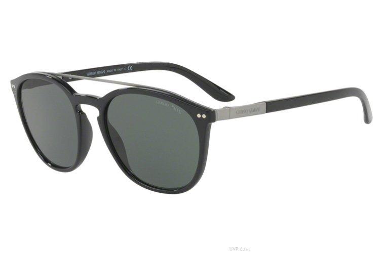 Giorgio Armani Damen Sonnenbrille » AR8088«, schwarz, 501771 - schwarz/grün