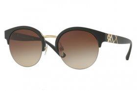 BURBERRY Burberry Damen Sonnenbrille » BE4241«, rot, 364311 - rot/grau