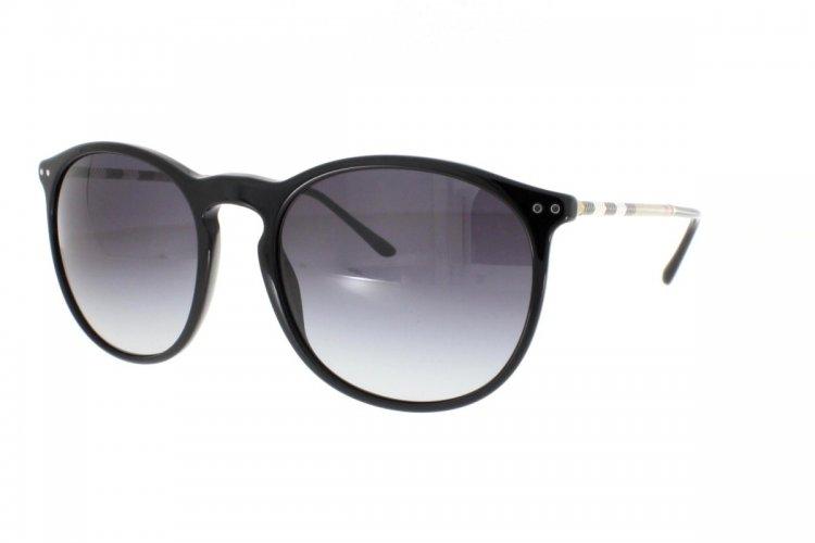 BURBERRY Burberry Herren Sonnenbrille » BE4250Q«, schwarz, 30018G - schwarz/grau