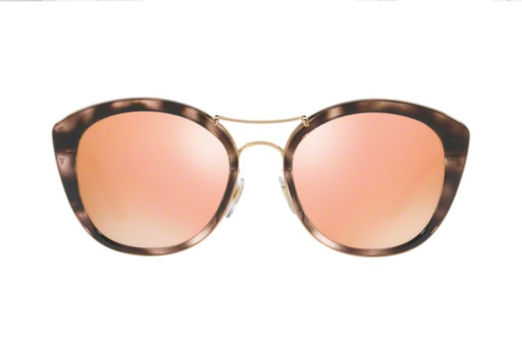 BURBERRY Burberry Damen Sonnenbrille » BE4251Q«, rosa, 36637J - rosa/ gold