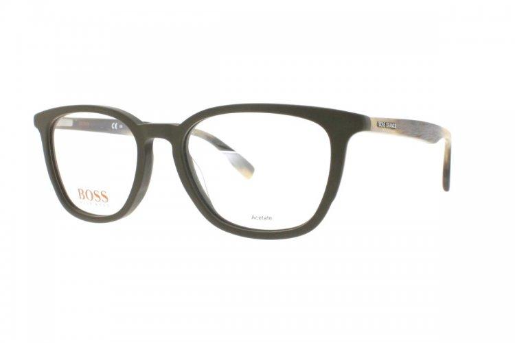 Boss Orange Herren Brille » BO 0302«, schwarz, 003 - schwarz