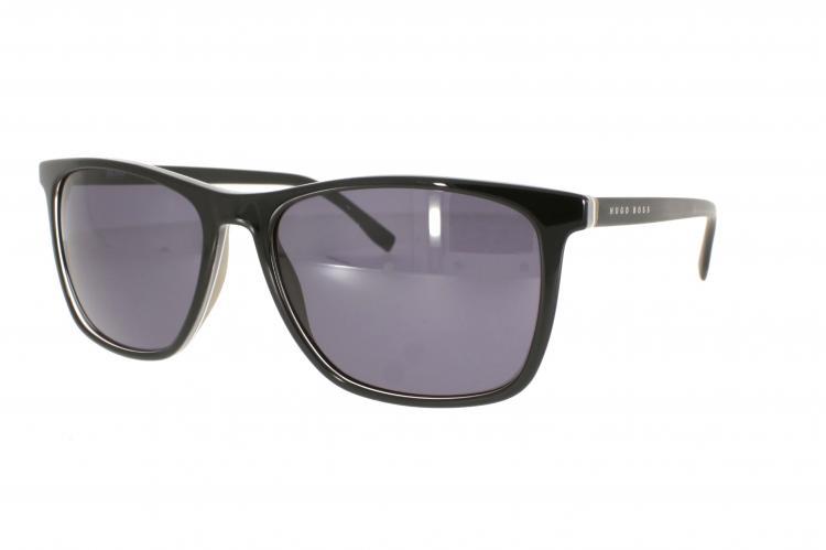 Boss Herren Sonnenbrille » BOSS 0760/S«, schwarz, QHI/Y1 - schwarz/grau