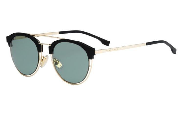 BOSS Hugo Boss Hugo Boss Herren Sonnenbrille Boss 0784/S 5L J5G, Gold (Gold/Grey Green), 49