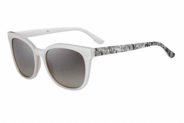 Boss Damen Sonnenbrille » BOSS 0893/S«, weiß, 1GP/6P - weiß/ gold