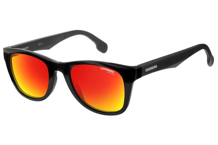 Carrera Eyewear Sonnenbrille » CARRERA 5038/S«, schwarz, PPR/UZ - schwarz/rot
