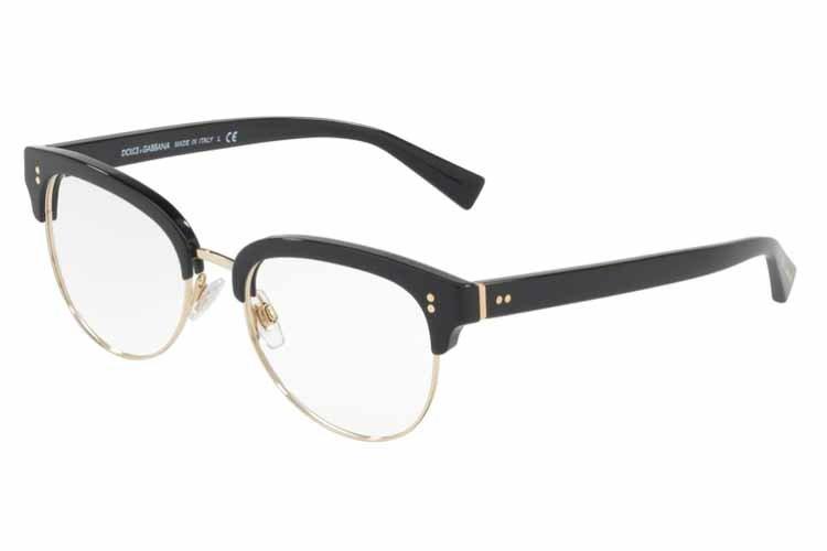 DOLCE & GABBANA Dolce & Gabbana Herren Brille » DG3270«, schwarz, 501 - schwarz