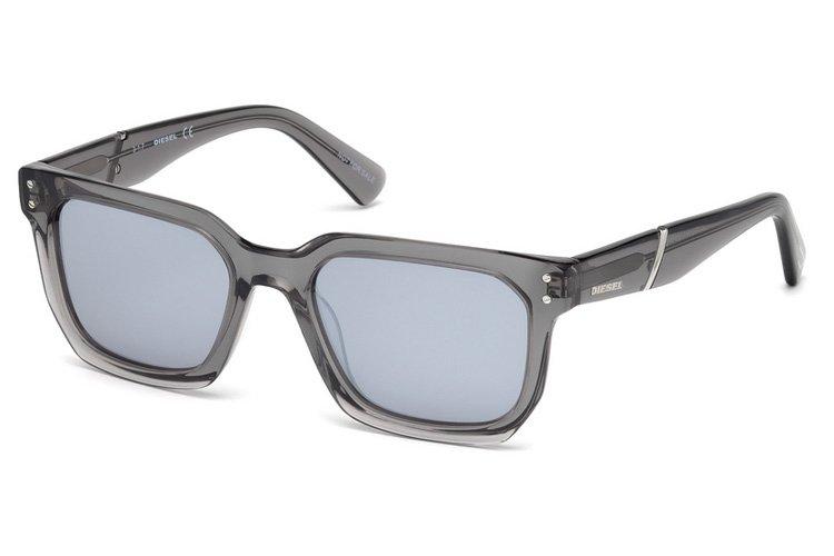 Diesel Herren Sonnenbrille » DL0253«, grau, 20C - grau/grau