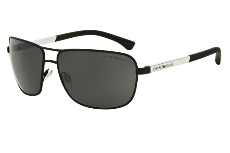 Emporio Armani Sonnenbrille » EA2033«, schwarz, 309487 - schwarz/grau