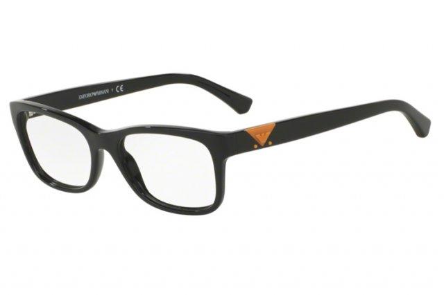 Emporio Armani Damen Brille » EA3093«, schwarz, 5017 - schwarz