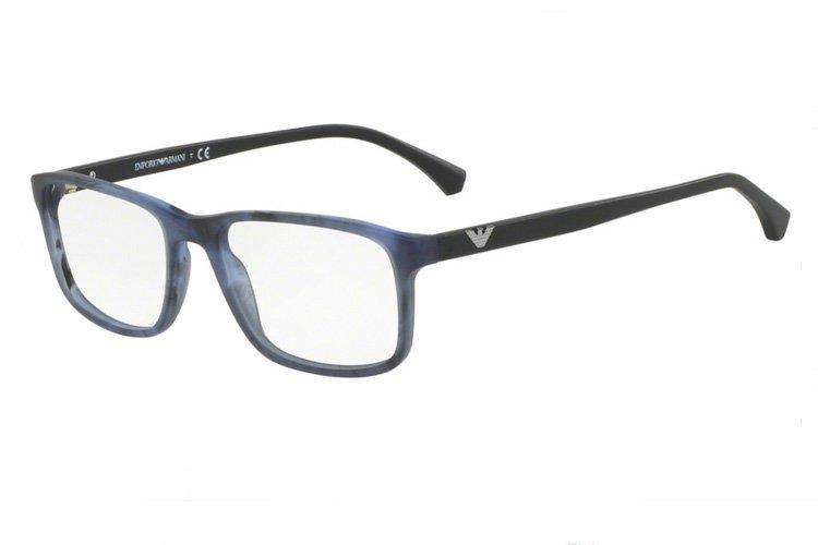 Emporio Armani Herren Brille » EA3098«, blau, 5549 - blau