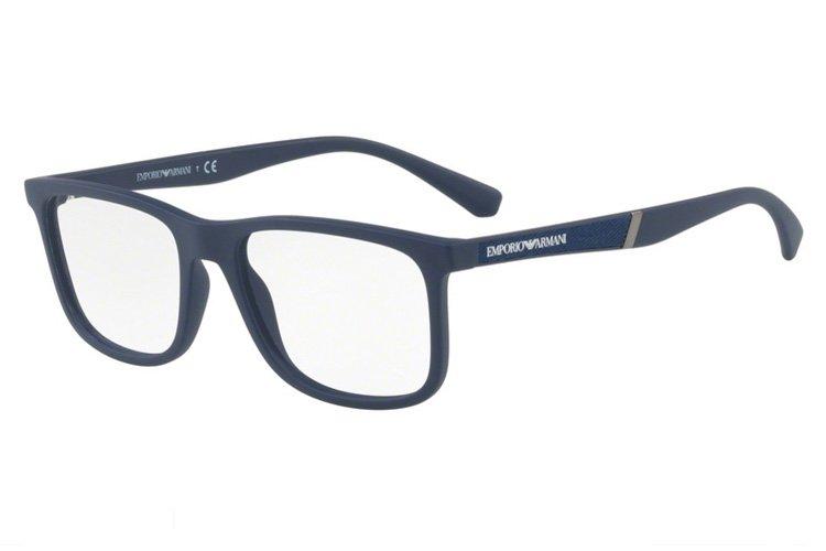 Emporio Armani Herren Brille » EA3112«, blau, 5575 - blau