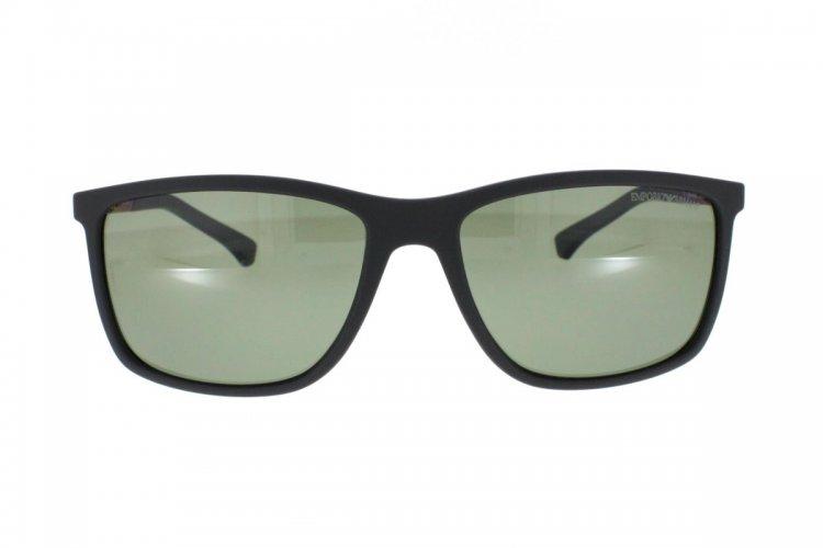 Emporio Armani Herren Sonnenbrille » EA4058«, schwarz, 56539A - schwarz/grün