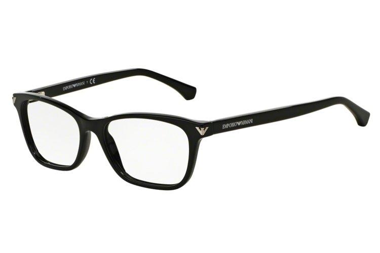 Emporio Armani Damen Brille » EA3073«, schwarz, 5017 - schwarz